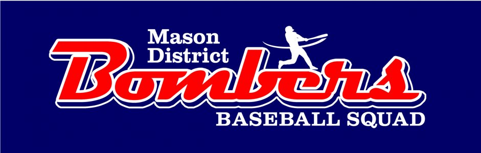 Mason Bombers Baseball Custom Shirts & Apparel