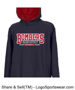 The Youth Rival Two-Tone Hoodie in 16 School Colors by Game Sportswear Design Zoom